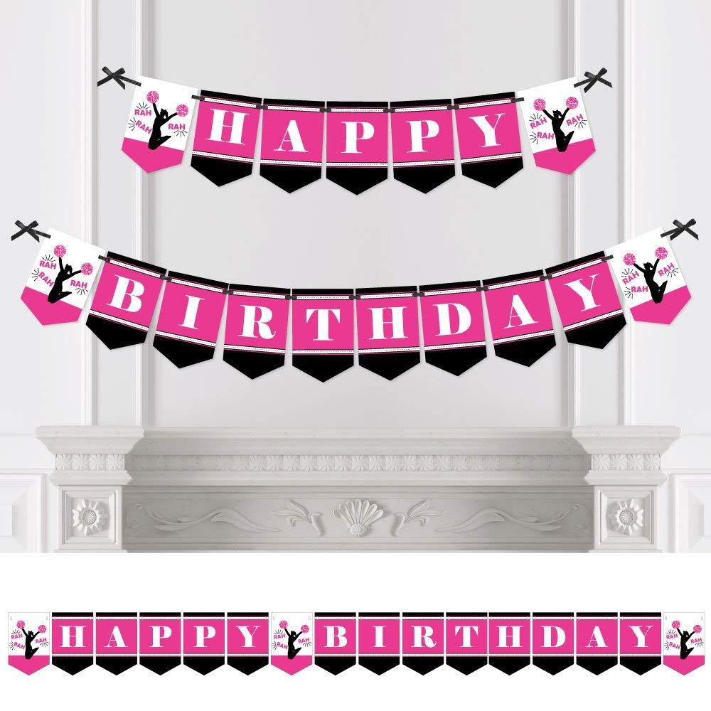 We've Got Spirit - Cheerleading - Birthday Party Bunting Banner - Cheerleader Birthday Party Decorations - Happy Birthday