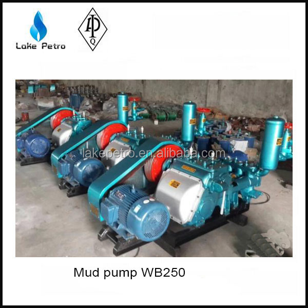 Good quality BW250 triplex plunger pump/ mud pump for drilling rig/ cement mortar pump