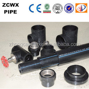 black plastic water pipe roll of chinese manufacturer