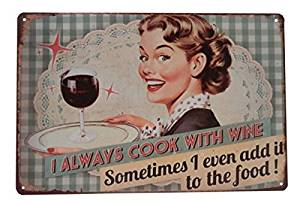 Yours Dec Metal Tin Sign Wine Cooking Funny Alcohol Drinking Tin Sign Bar Pub Diner Cafe Home Wall Decor Home Decor Art Poster Retro Vintage