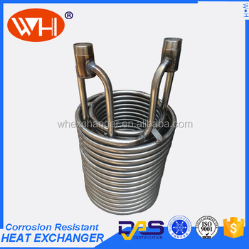 Iso Certification Evaporator Coil For Deep Freezer Stainless Steel Heat Exchanger Of Cooling 1hp