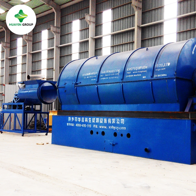 High quality waste plastic to crude oil plant with CE