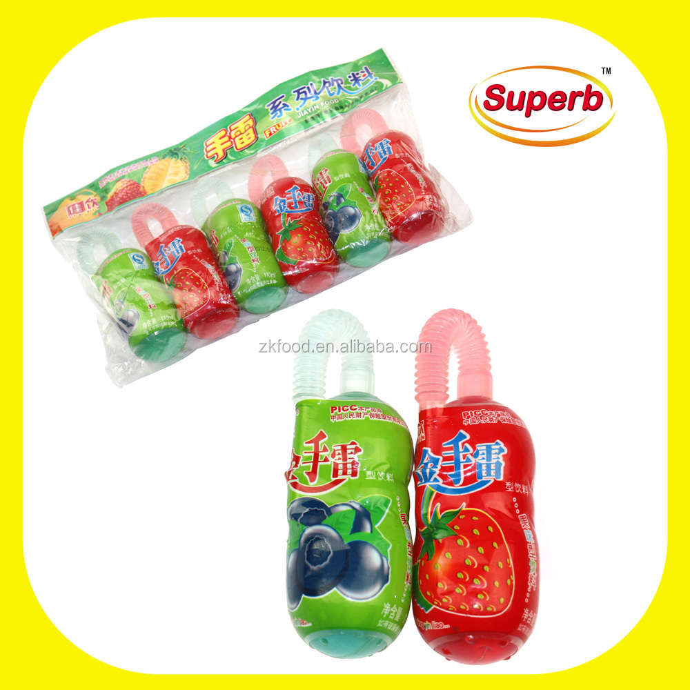 Agent wanted OEM 110ml fruit flavor liquid jelly candy