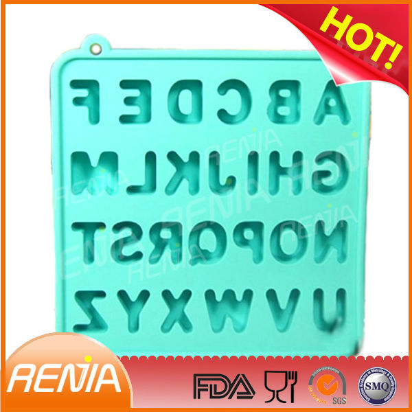 RENJIA cube alphabet letter beads fancy ice cube trays ice cube tray alphabet