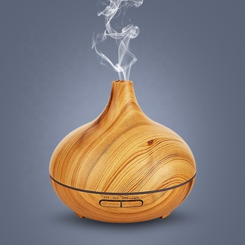 JX Transfer Printing 300ML Aroma Diffuser Essential Oil Diffuser Air Purifier Fresh Ultrasonic Humidifier