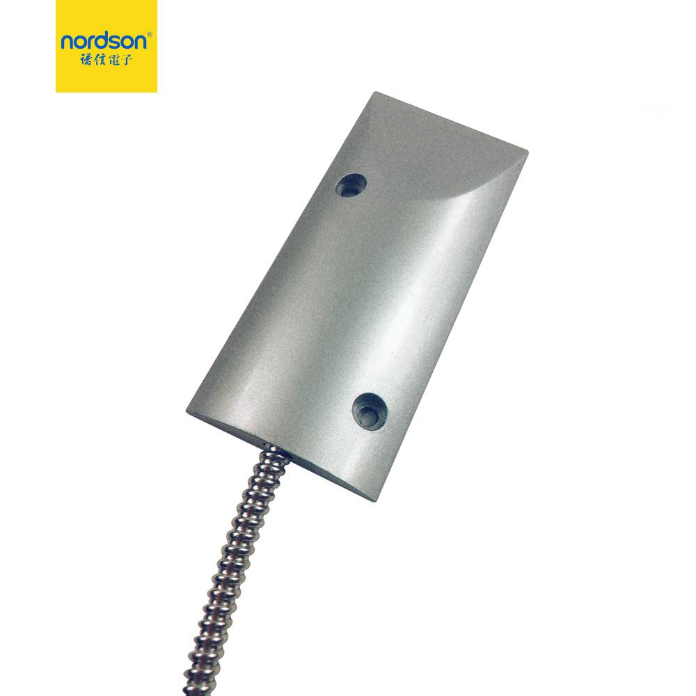 Détecteur d'intrusion tube en acier inoxydable porte coulissante magnétique interrupteur à contact sec