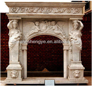 discount marble fireplace mantel