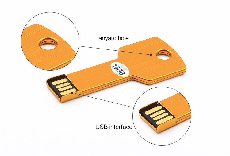1gb 2gb 4gb 8gb 16gb 32gb 64gb 128gb key shape usb stick, metal usb key 1/2/4/8/16/32/64/128 gb, key shaped usb flash drive