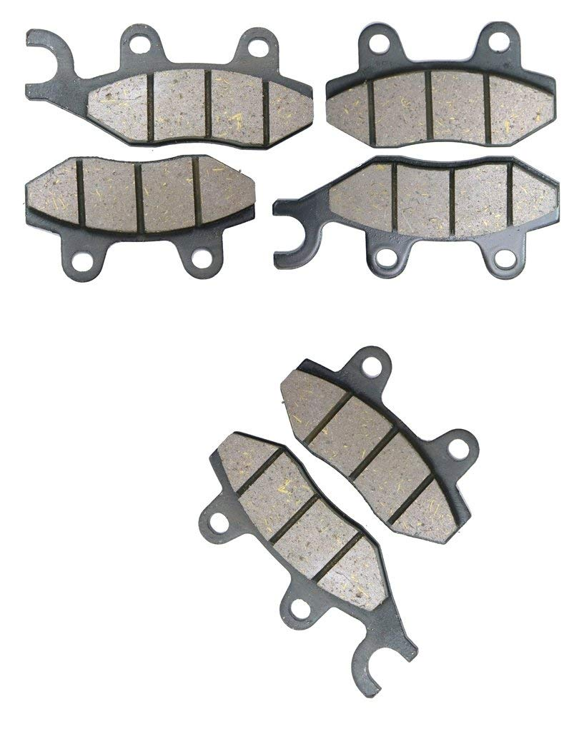 2 CNBK Resin Brake Shoe Pads Set fit CF MOTO ATV Bike CF800 CF 800 cc 800cc C Force ATV 14 15 2014 2015 6 Pads
