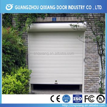 Automatic Garagentore Mit Tur, High Speed Rolling Shutter Door, Vetical Roll  Top Door For