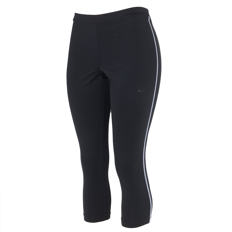 1ccd0312ca2010 Buy Nike Womens Pro Hyperwarm Dri-FIT Tights-Capri- Heather Grey [L ...
