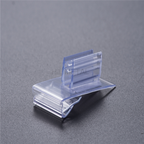 Hanging business card holder source quality hanging business card gripper slot free pvc card holder sign grip hanging display supermarket reheart Gallery