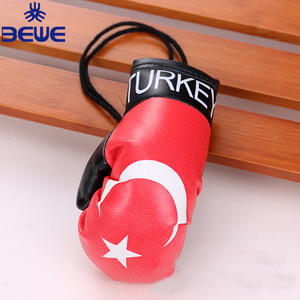 Wholesale Price Custom Country Flag Mini Boxing Glove Key Ring