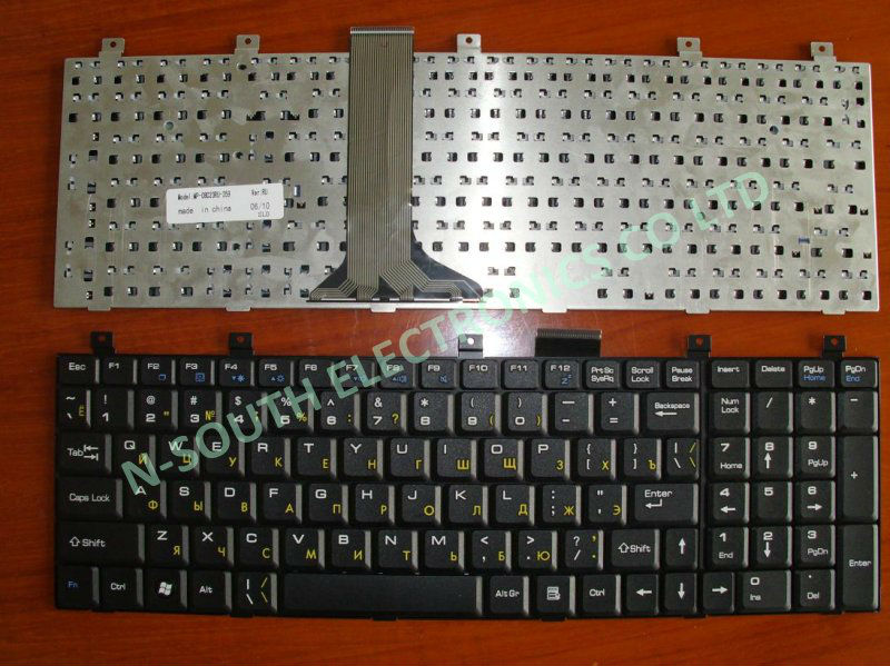 replacement laptop keyboard for msi cr600 vx600 ex600 black ru with game,laptop repair