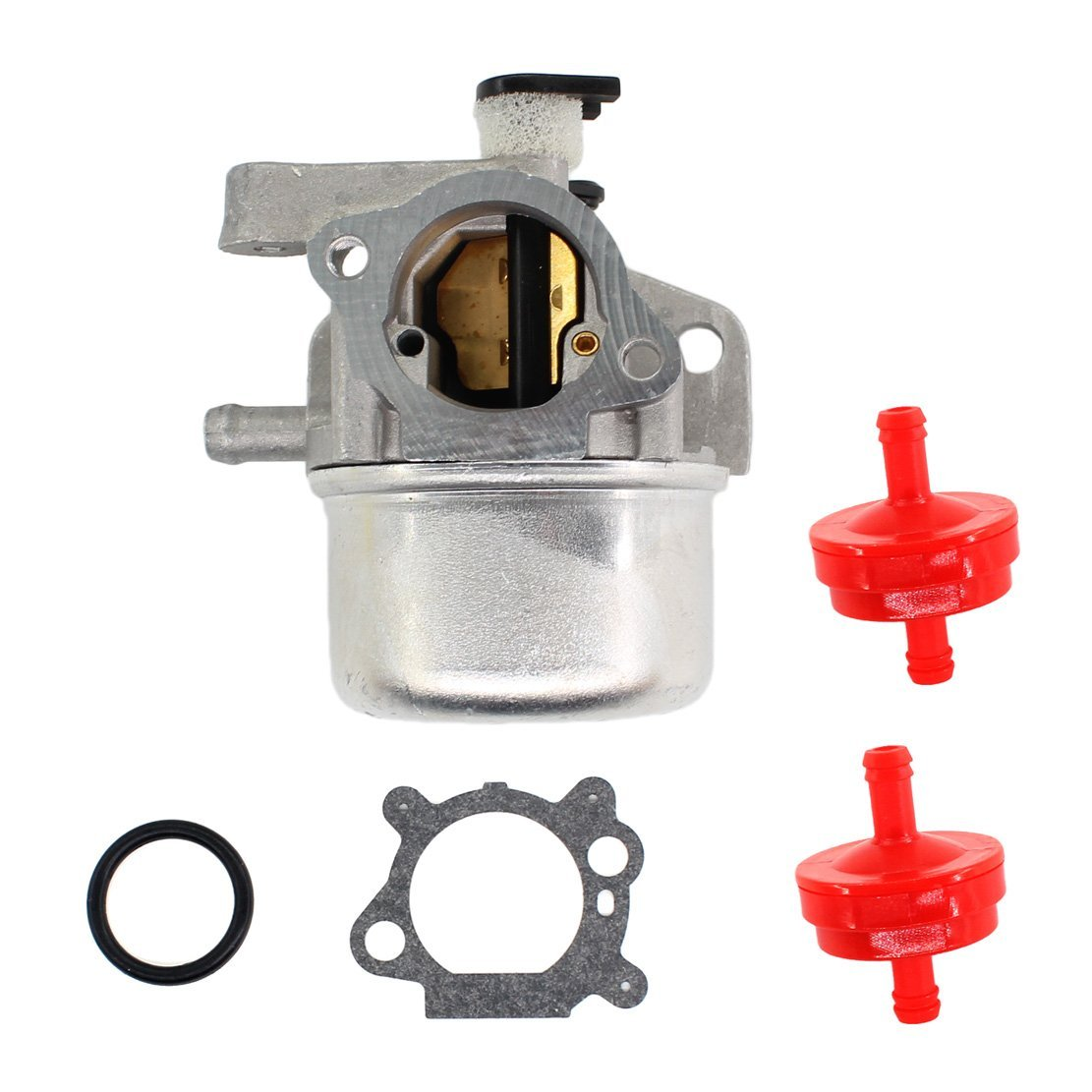 USPEEDA Carburetor for Craftsman Gold 6.25 6.75 HP MRS Push Mower 675 190cc Briggs & Stratton Fuel Filter