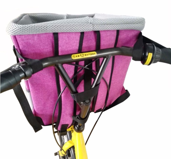 2020 Amazon Hot Pet Products 3 In 1 Front Bicycles Basket <strong>Dog</strong> Bike Pet <strong>Bag</strong> <strong>Carrier</strong> for Bicycle