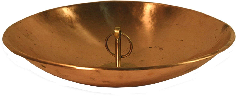 Copper Collection Rain Chain Bowl Size: 12 inch