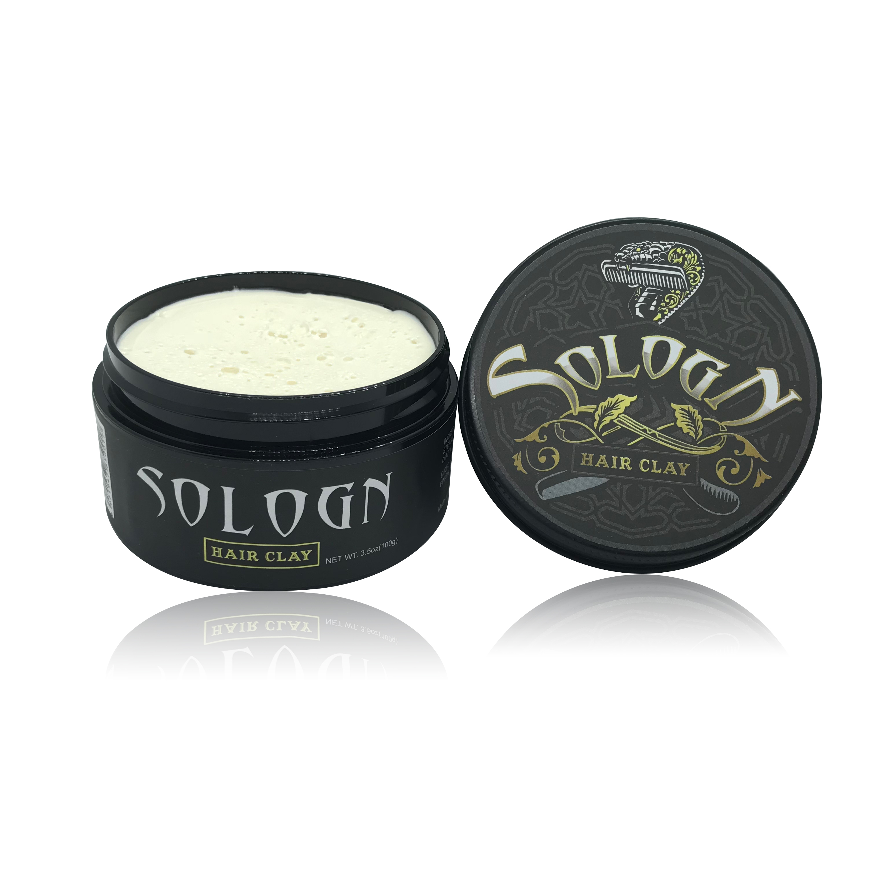 Sologn Top Hair Styling Products Brand Extreme Hold Organic Hair Styling Wax For Men Water Soluble Hair Styling Clay Pomade Buy Factory Directly Sales Hair Styling Pomade Water Based Colorful Pomade Product On Alibaba Com
