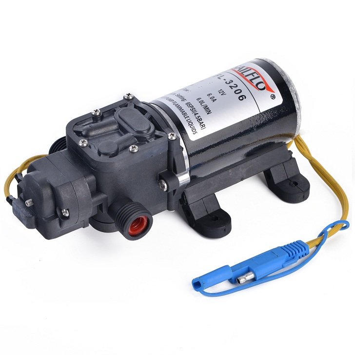Professional FL-3206 12v <strong>dc</strong> 60psi 6lpm small car wash water pump
