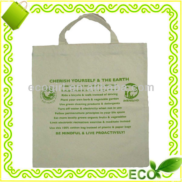 eco friendly cotton shoping bag