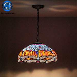 Handmade glass material turkish mosaic lamp hanging lights indoor decoration tiffany lamp