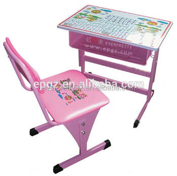Princess Pink Kids Portable Desk Adjule Party Tables And Chairs