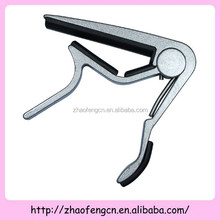 Silver Metal Electric / Acoustic / Folk / Bass Guitar Capo