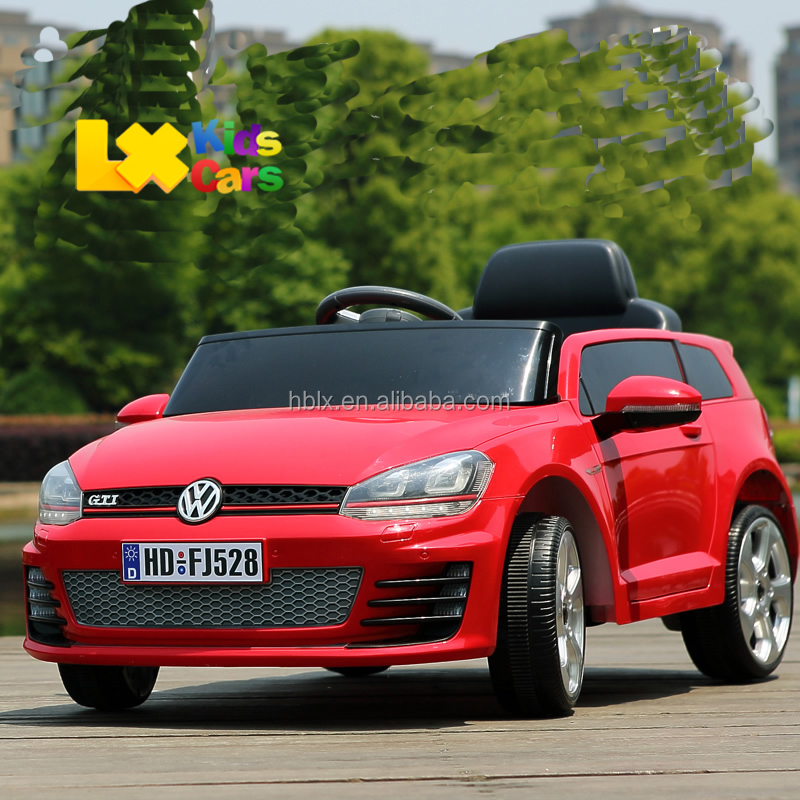 Licensed VW Golf electric car for kids 2.4G remote control kids ride on car