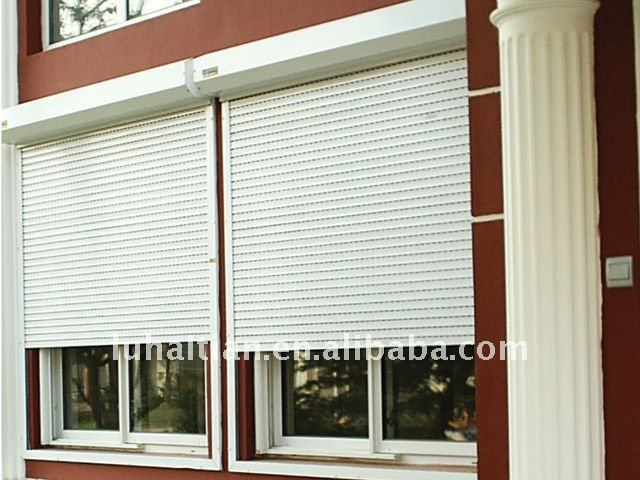 exterior window blinds. Black Bedroom Furniture Sets. Home Design Ideas