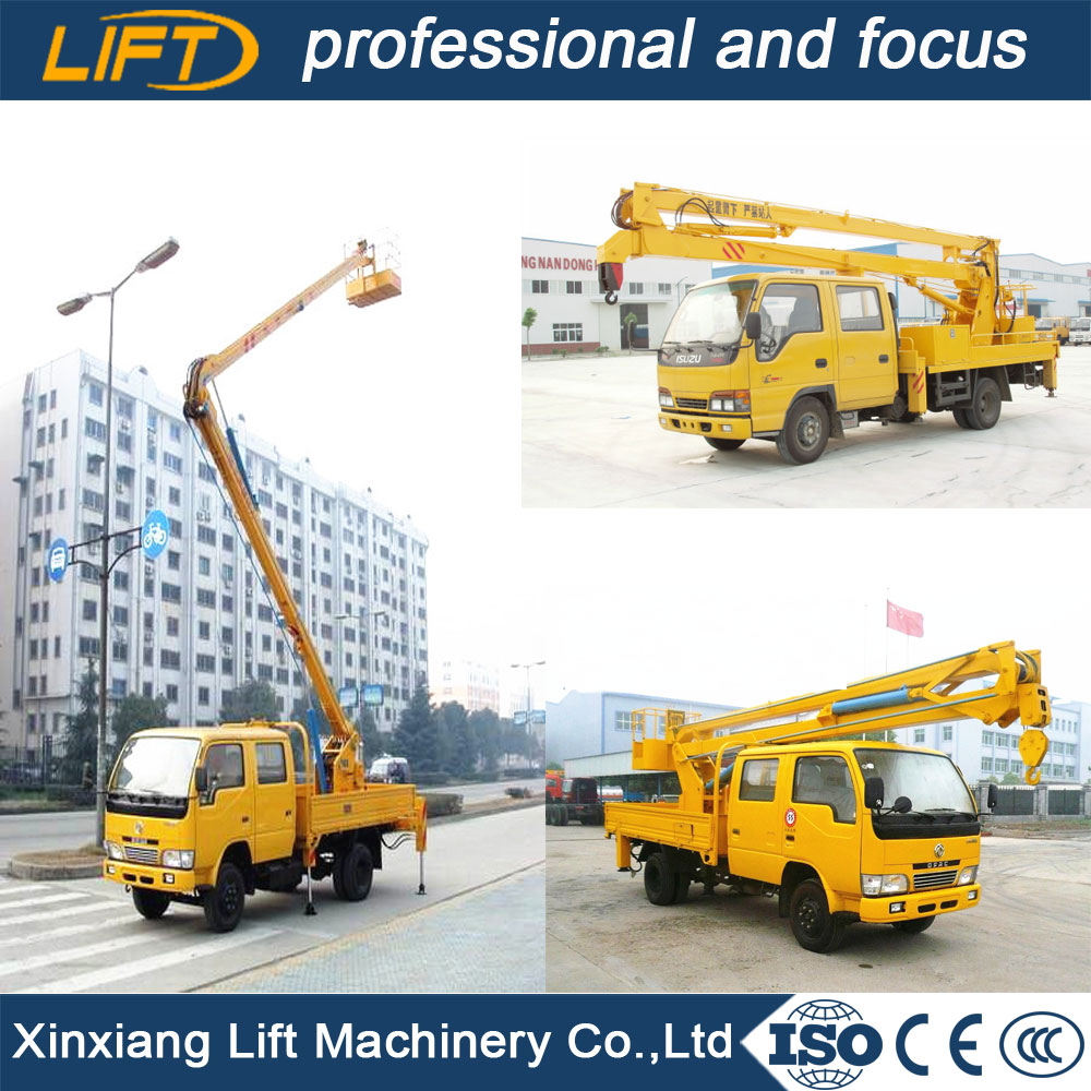 Hiqh quality truck mounted aerial work lift for hot sale