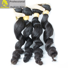 100% unprocessed raw cuticle aligned virgin human remy natural Raw Loose deep density wave virgin brazilian india hair extension