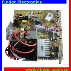 CRT TV Mainboard support PAL, NTSC, and SECAM multi language digital I2C BUS control circuit