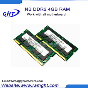Most popular products ETT chips ram memory ddr2 4gb kit for laptop