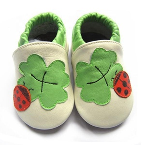 China factory cartoons animal leather toddler shoes soft sole new born baby shoes