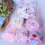 double gauze fabric reactive printed for baby bedding set