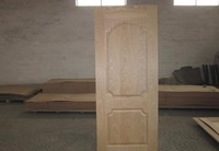Ash Veneeer Faced Wood Veneer Door Skin