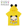 2017 Funny Character Face Hood Summer Clothes Kids Hood Tshirt