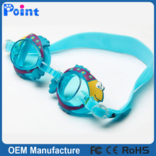 Children swim goggle funny soft silicone swimming goggles for kids