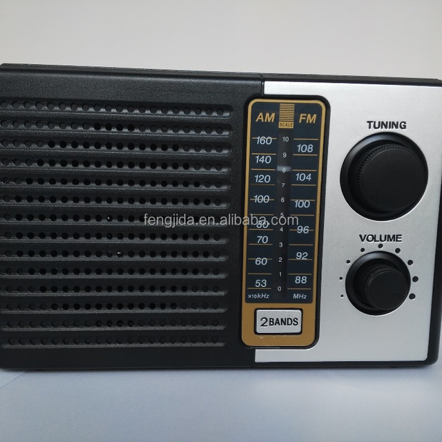 Hot Sell Retro Portable Radio Mini Speaker with FM/AM