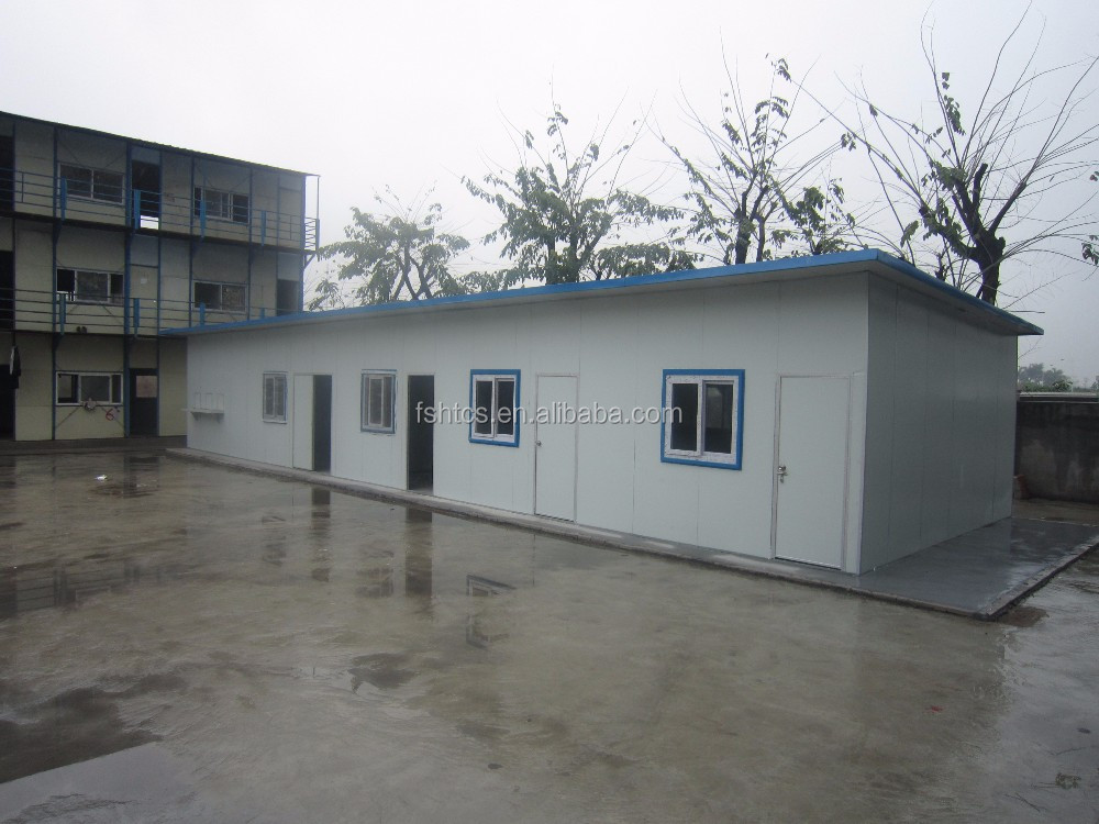 Slope roof durable prefab house steel structure buy for Prefab roof