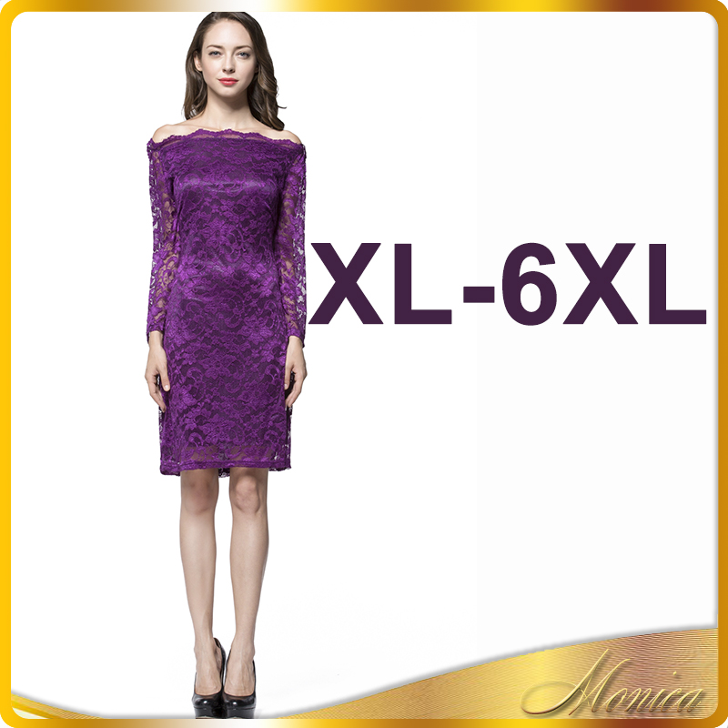 Venta al por mayor vestido fiesta manga larga encaje-Compre online ...