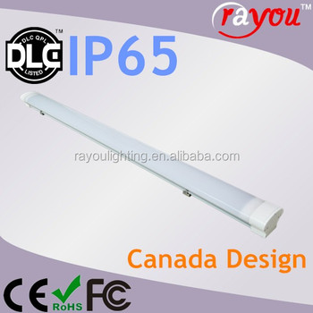 Dlc Listed Ip65 Fluorescent Light Led Replace,Led Tri-proof Light ...