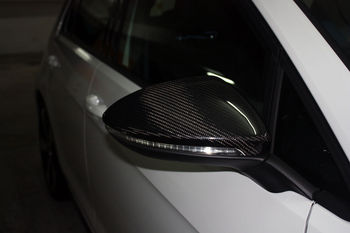 Spiegel Golf 7 : For volkswagen vw golf mk gti carbon fiber mirror cover buy