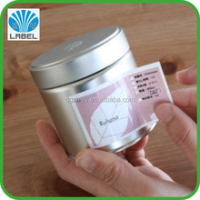 Waterproof private label natural cosmetics packaging