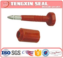 tamper evid truck door seal mechanical bolt seals
