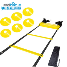 2018 Procircle Multi Colored Flat Rung Sports Agility Ladder
