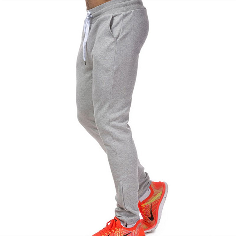 100%cotton tapered joggers plain joggers pants/custom jogger sweatpants