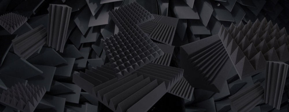 Sound Absorbing Acoustic Foam Panel For Ceiling And Wall