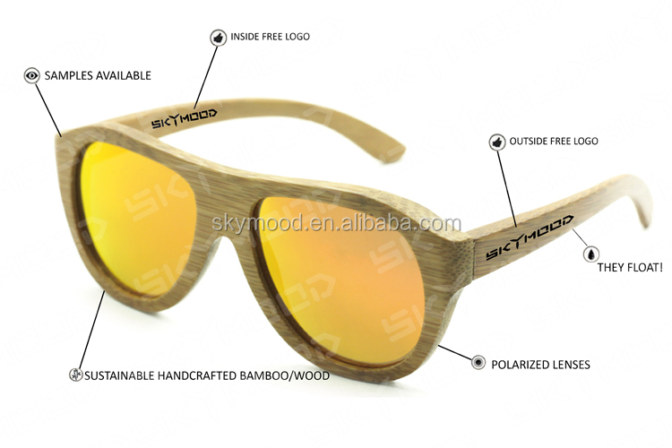 2019 Low MOQ Unisex Shenzhen Wood Acetate Sunglasses