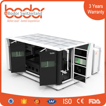 China Factory 500w Metal Laser Cutting Machine with Switzerland Design
